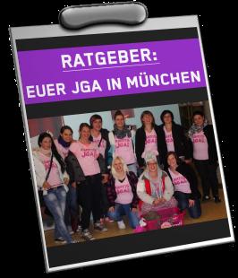 Ratgeber Junggesellinnenabschied München